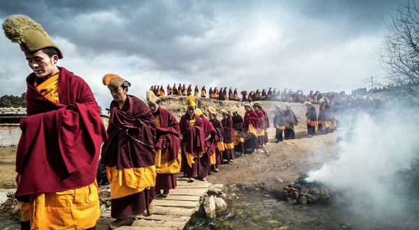 The Turning of the Buddha, Amdo, Tibet.