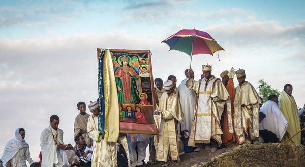 Priests at Dawn, Lalibela