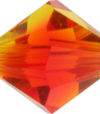 Fire Opal Crystal Bead