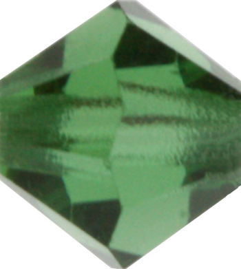 Green Tourmaline Crystal Bead