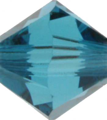 Indicolite Crystal Bead