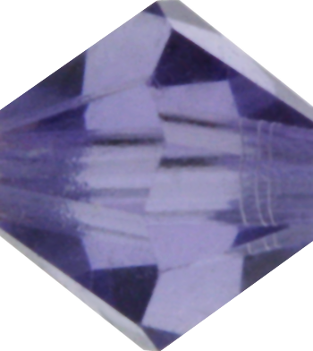 Purple Velvet Crystal Bead