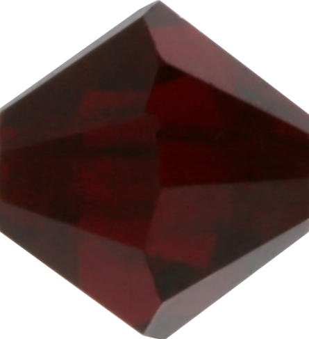Siam Satin Crystal Bead