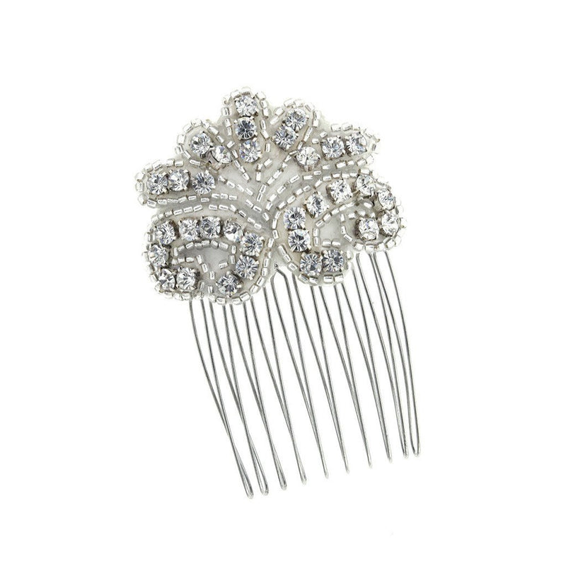 Fan-Shaped Crystal Haircomb