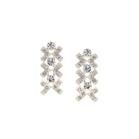 X's and O's Crystal Earrings