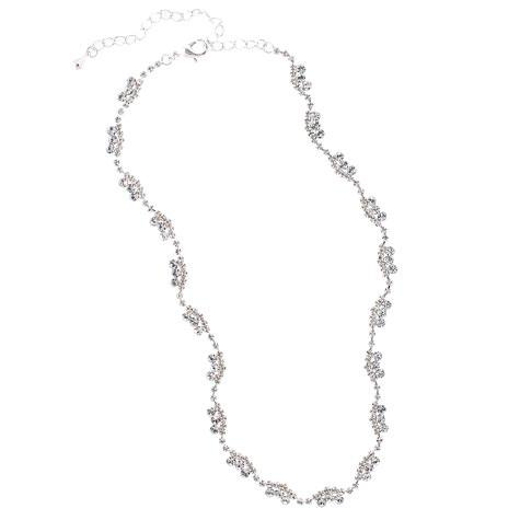 Simple Rhinestone Crystal Necklace