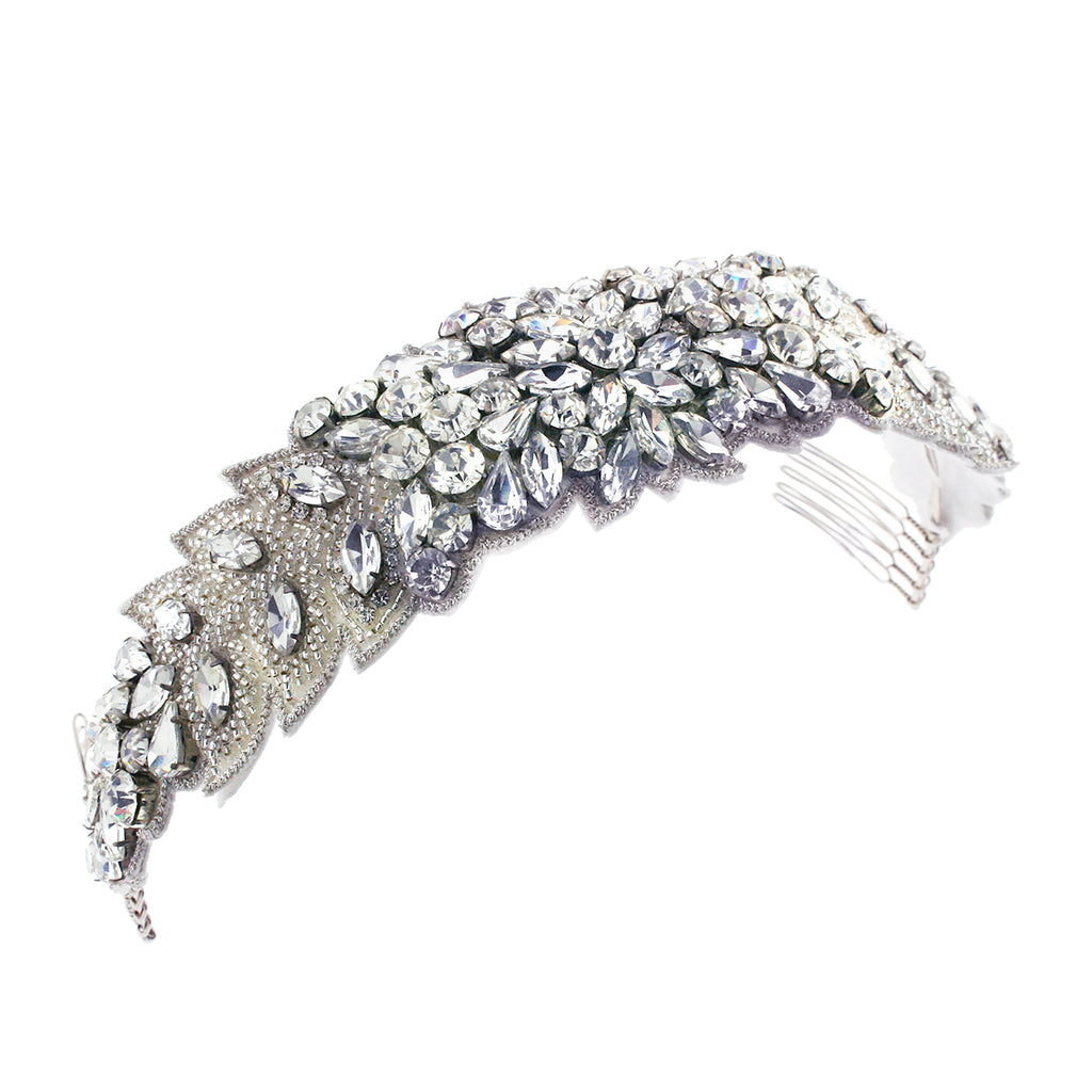 Beaded Applique Headband