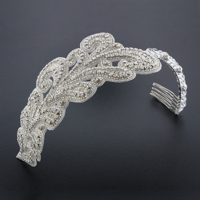 Art Nouveau Crystal Headband