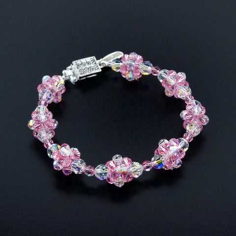 Multi-Color Cluster Bracelet