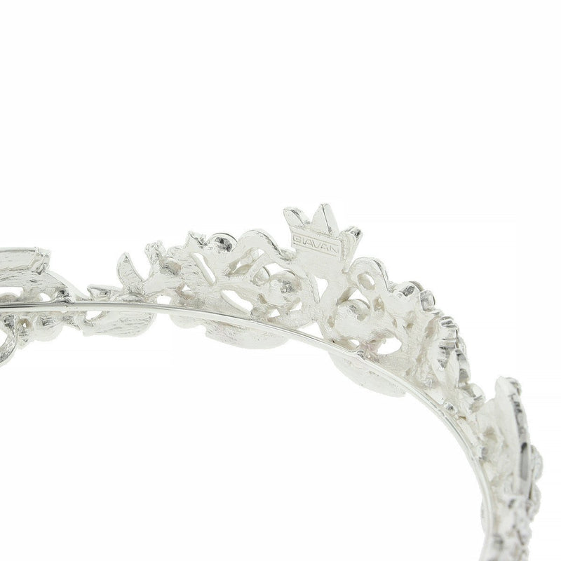 Princess Tiara with Small Flower at Center