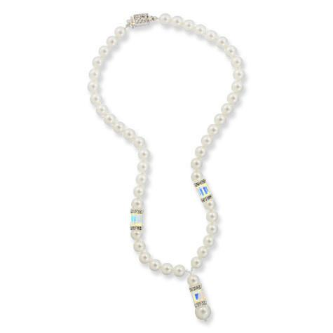 Pearl Necklace with Drop
