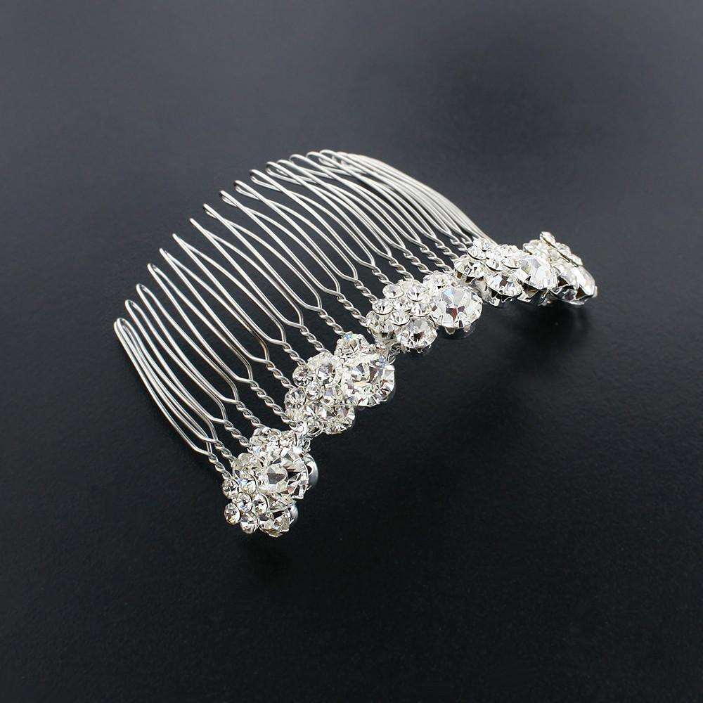 Crystal Cluster Haircomb