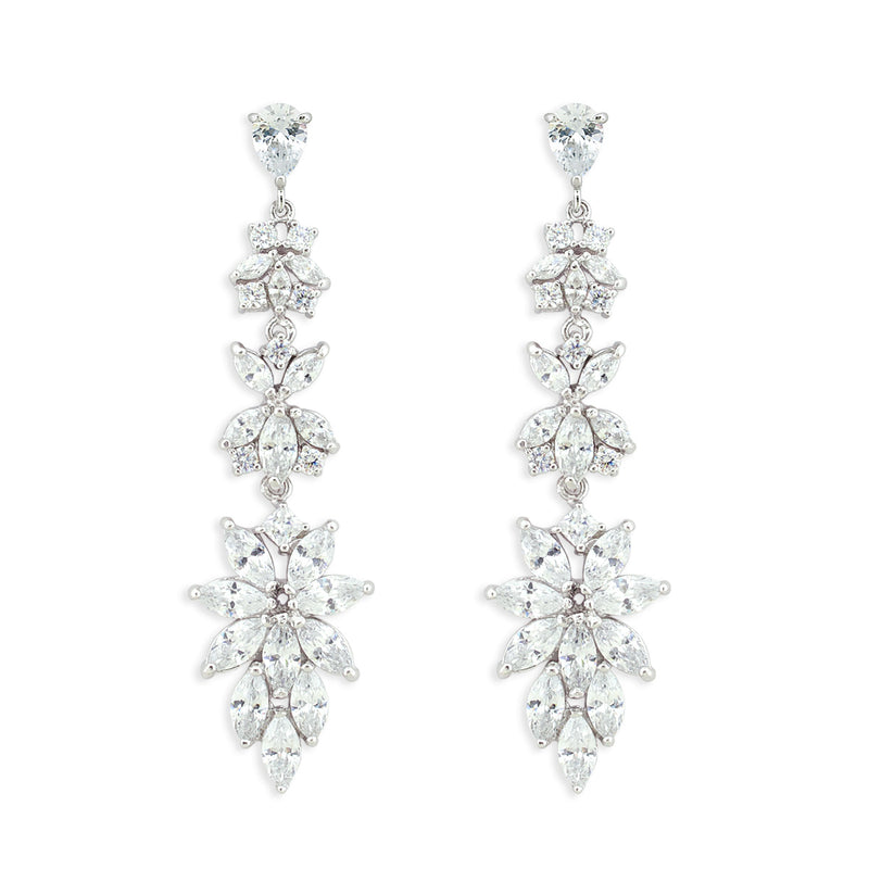 Modern CZ Earrings