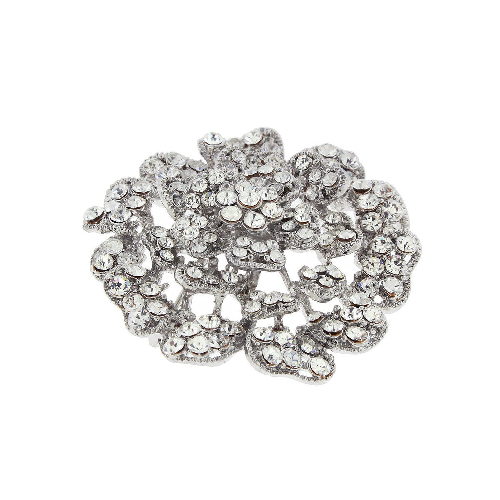 Multi-Tier Flower Brooch