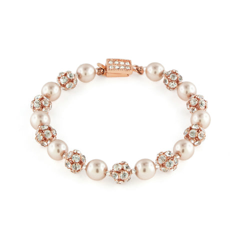 Rose Gold Pearl Bracelet
