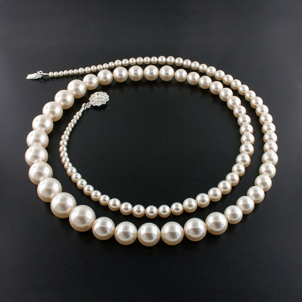 "36"" Graduated Pearl Necklace"