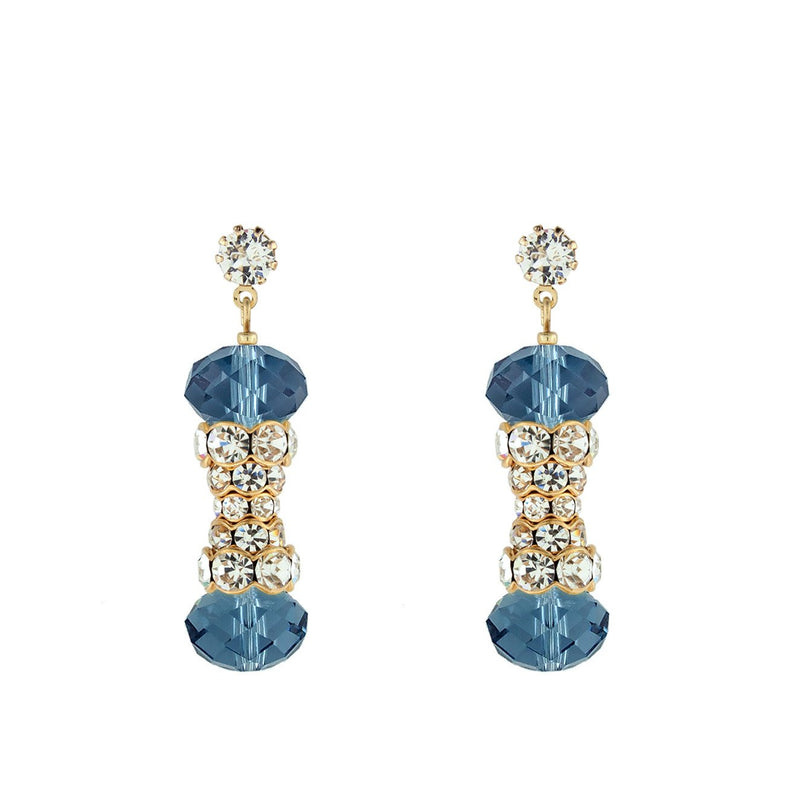 Crystal Embellished Statement Earrings