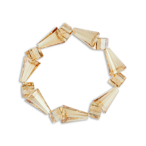 Geometric Crystal Stretch Bracelet