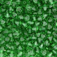 Green Tourmaline Crystal Beads