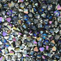 Heliotrope Crystal Beads