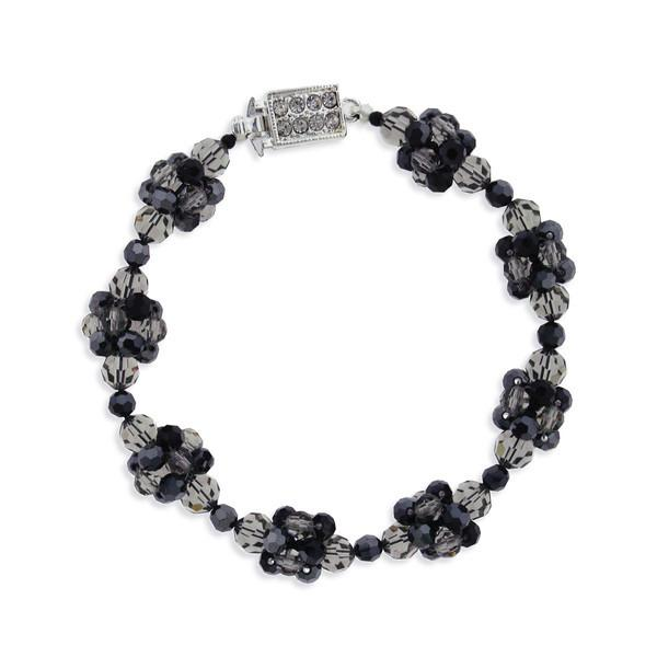 Crystal Cluster Bracelet in Various Colors