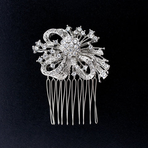 Art Deco Spray Haircomb