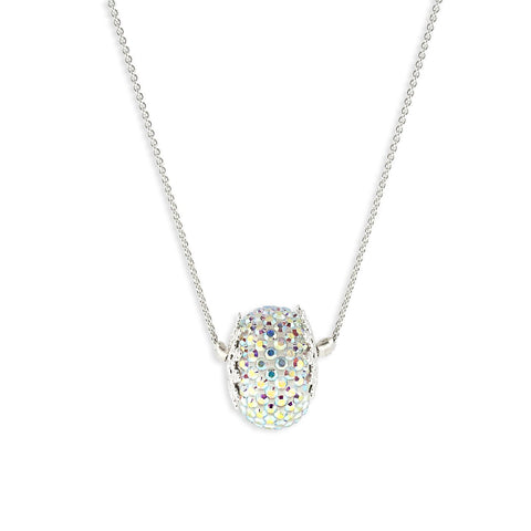 Pave Charm Pendant Necklace