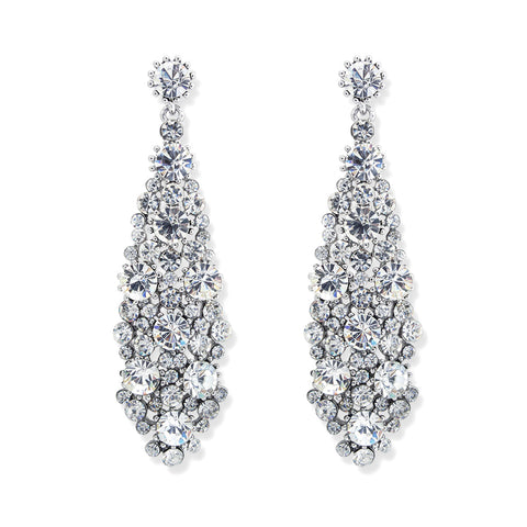 sparkling large crystal earring default rhinestone zircon stud earrings index