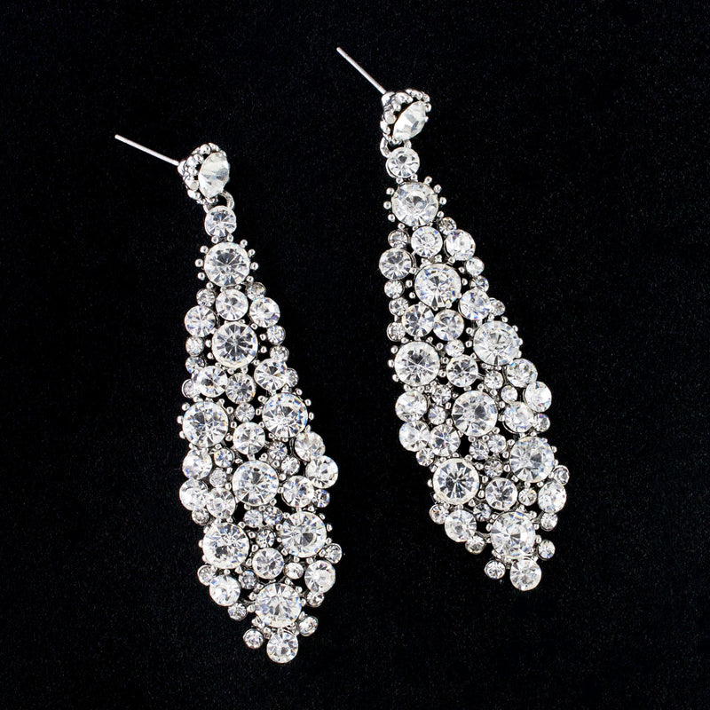Multi-Stone Crystal Earrings