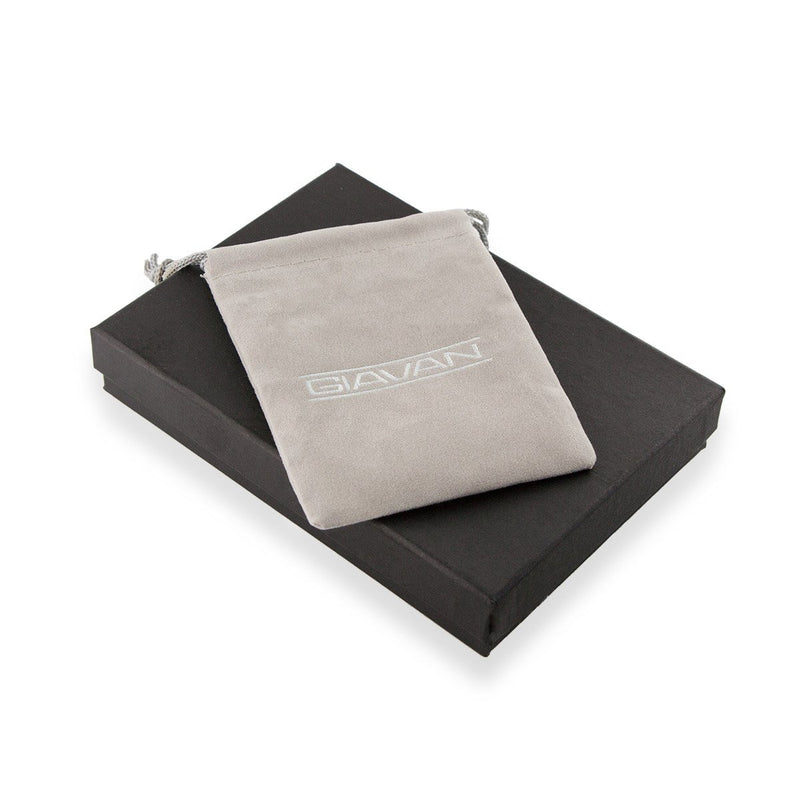 drawstring bag and gift box