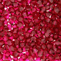 Ruby Crystal Beads