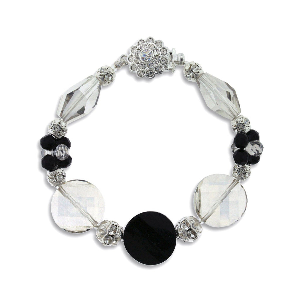 Multi-Shape Crystal Bracelet