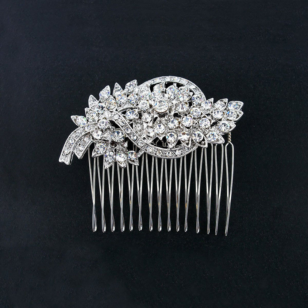 Bridal Hair Comb with Vintage Style