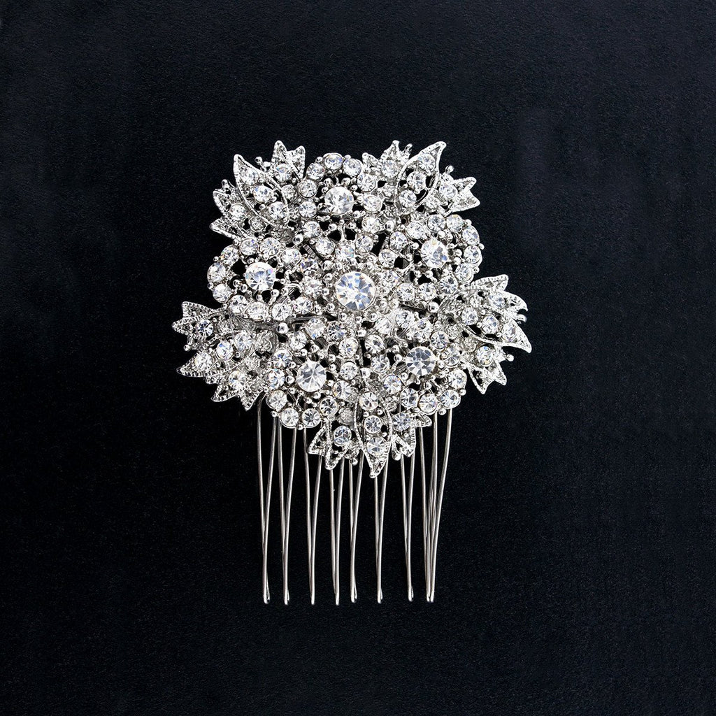Crystal Embellished Bridal Hair Comb