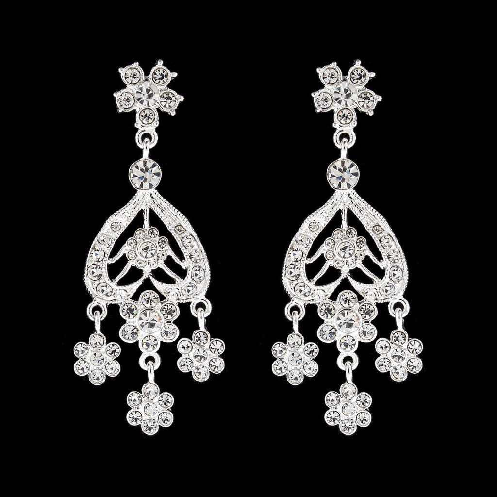 Vintage Style Chandelier Earrings