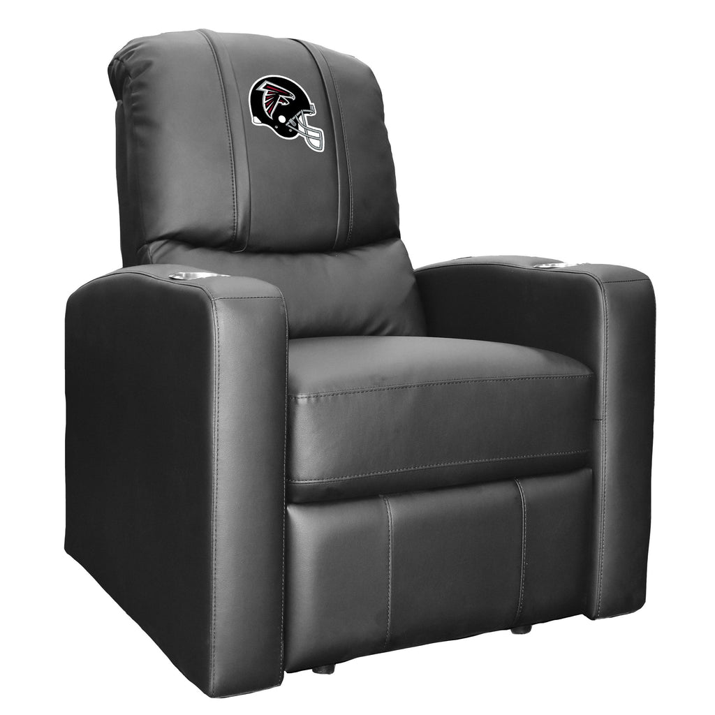 Stealth Recliner with Atlanta Falcons Helmet Logo