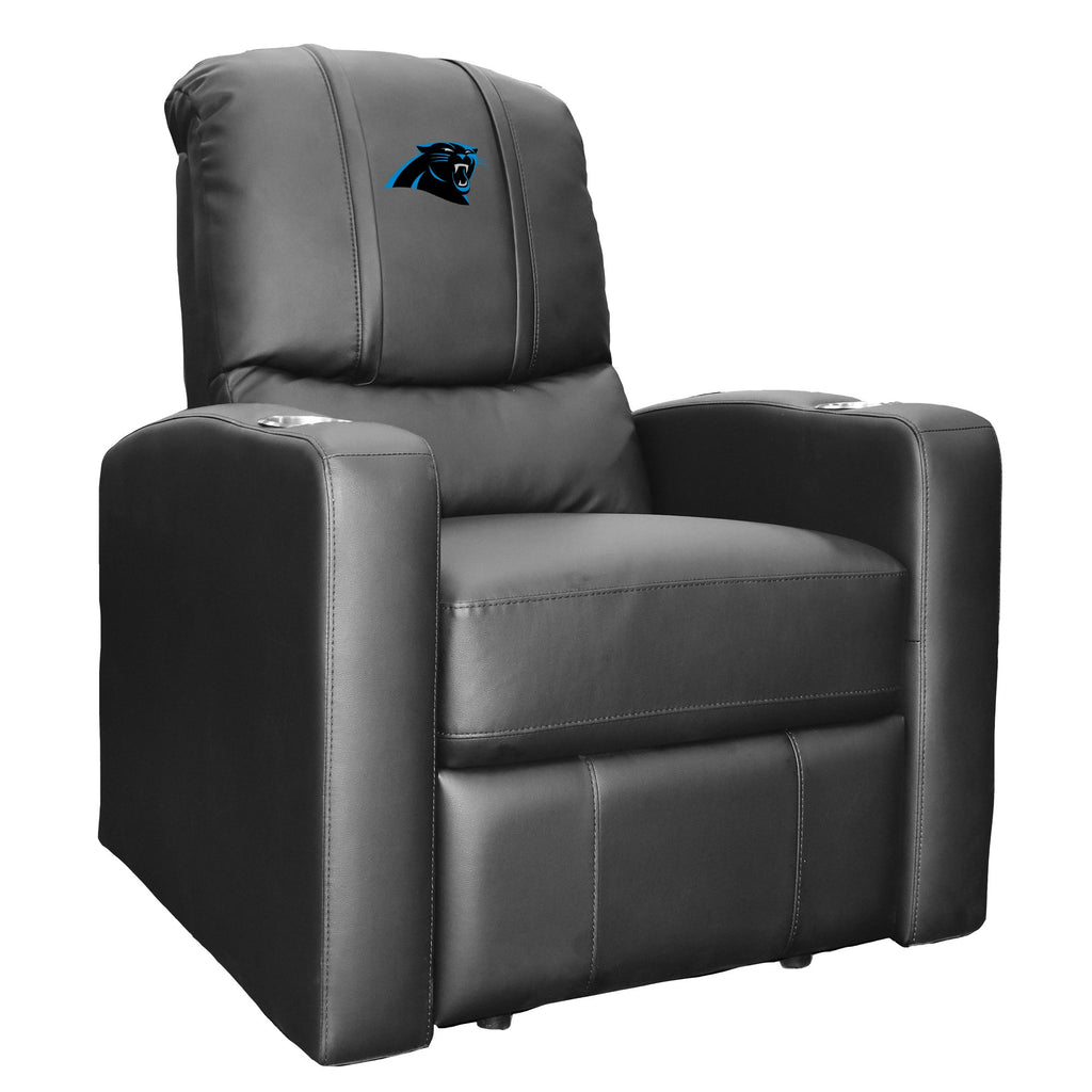 Stealth Recliner with  Carolina Panthers Primary Logo