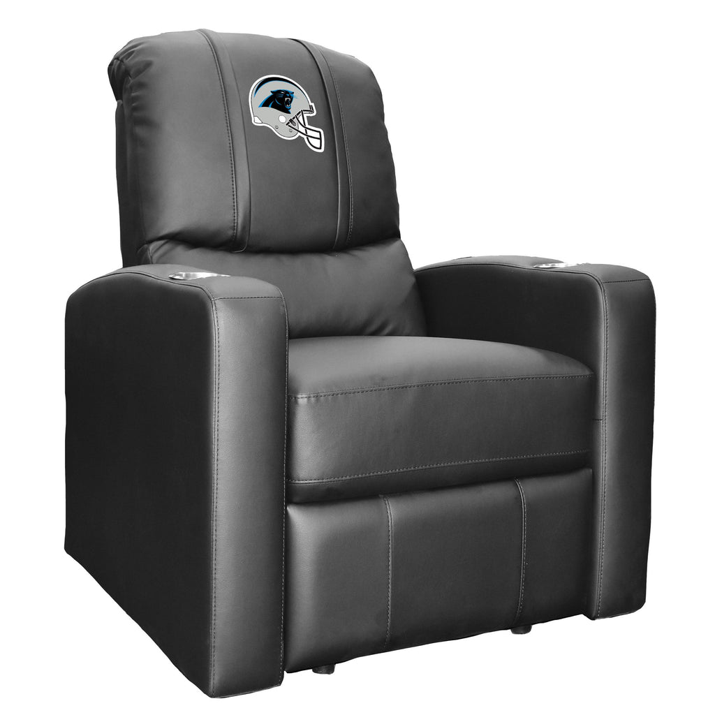 Stealth Recliner with  Carolina Panthers Helmet Logo