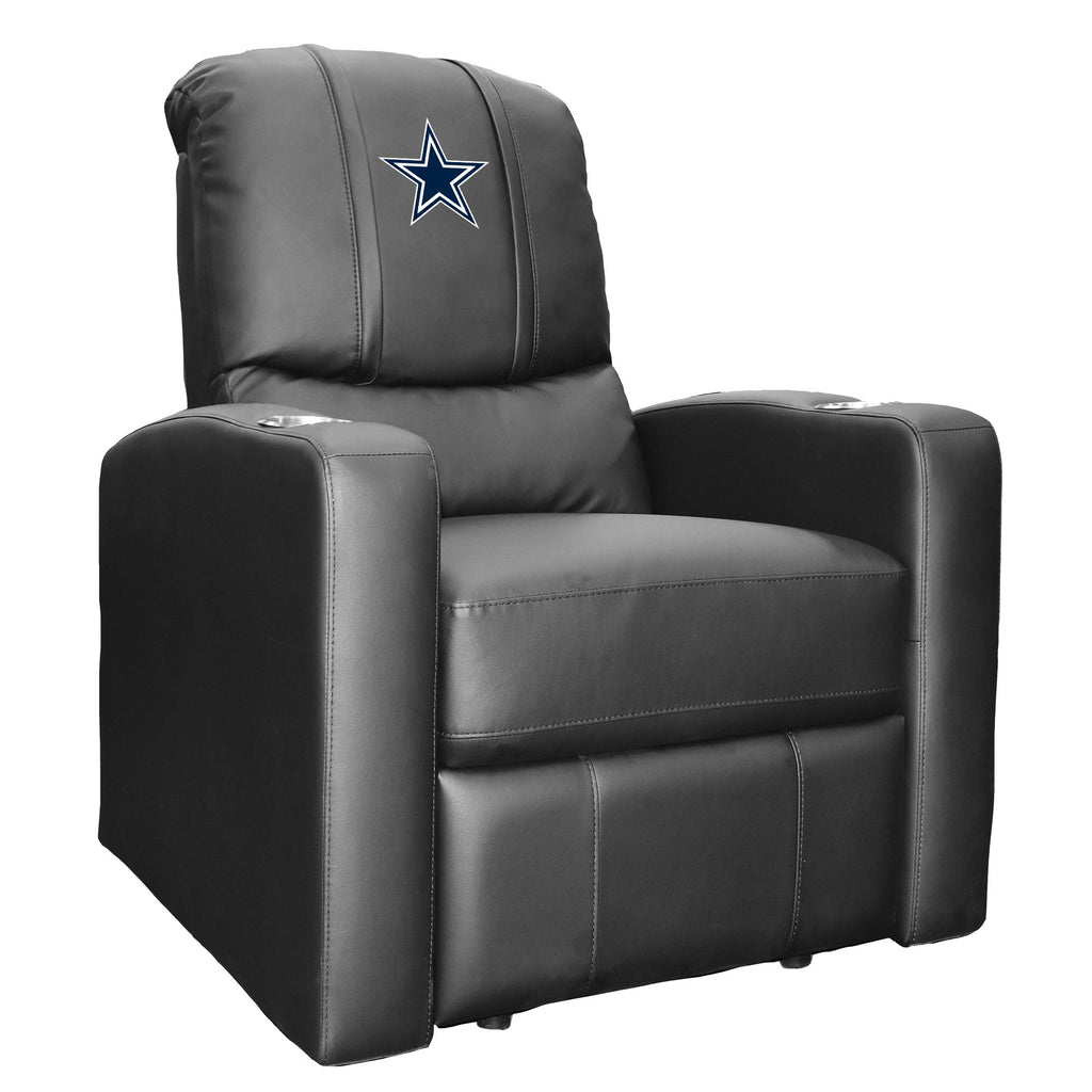 Stealth Recliner with  Dallas Cowboys Primary Logo