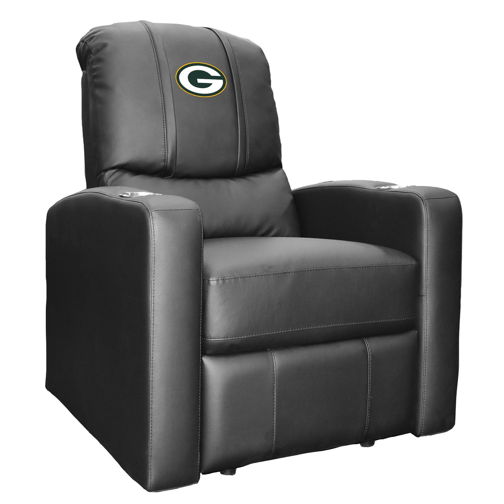 Stealth Recliner with  Green Bay Packers Primary Logo