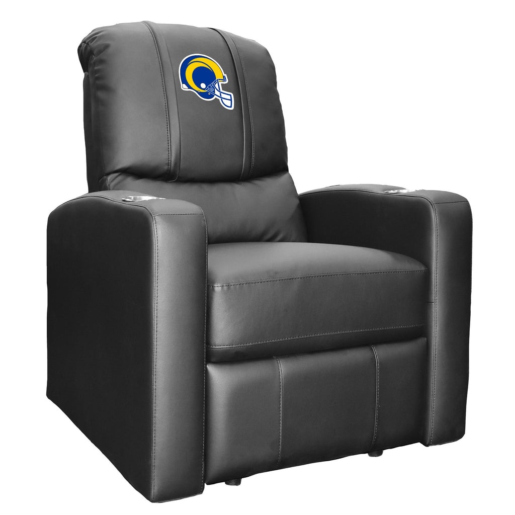 Stealth Recliner with  Los Angeles Rams Helmet Logo