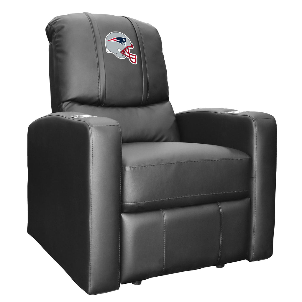 Stealth Recliner with  New England Patriots Helmet Logo