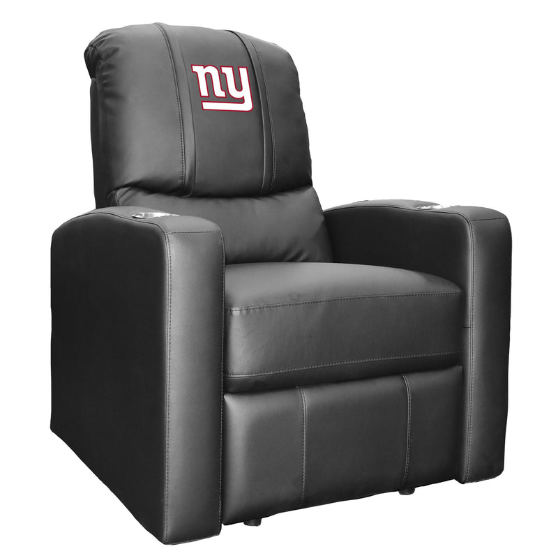 Stealth Recliner with  New York Giants Primary Logo