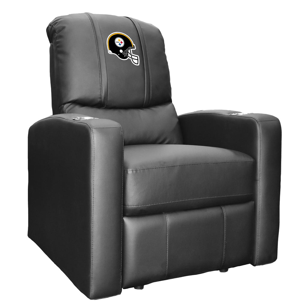 Stealth Recliner with  Pittsburgh Steelers Helmet Logo