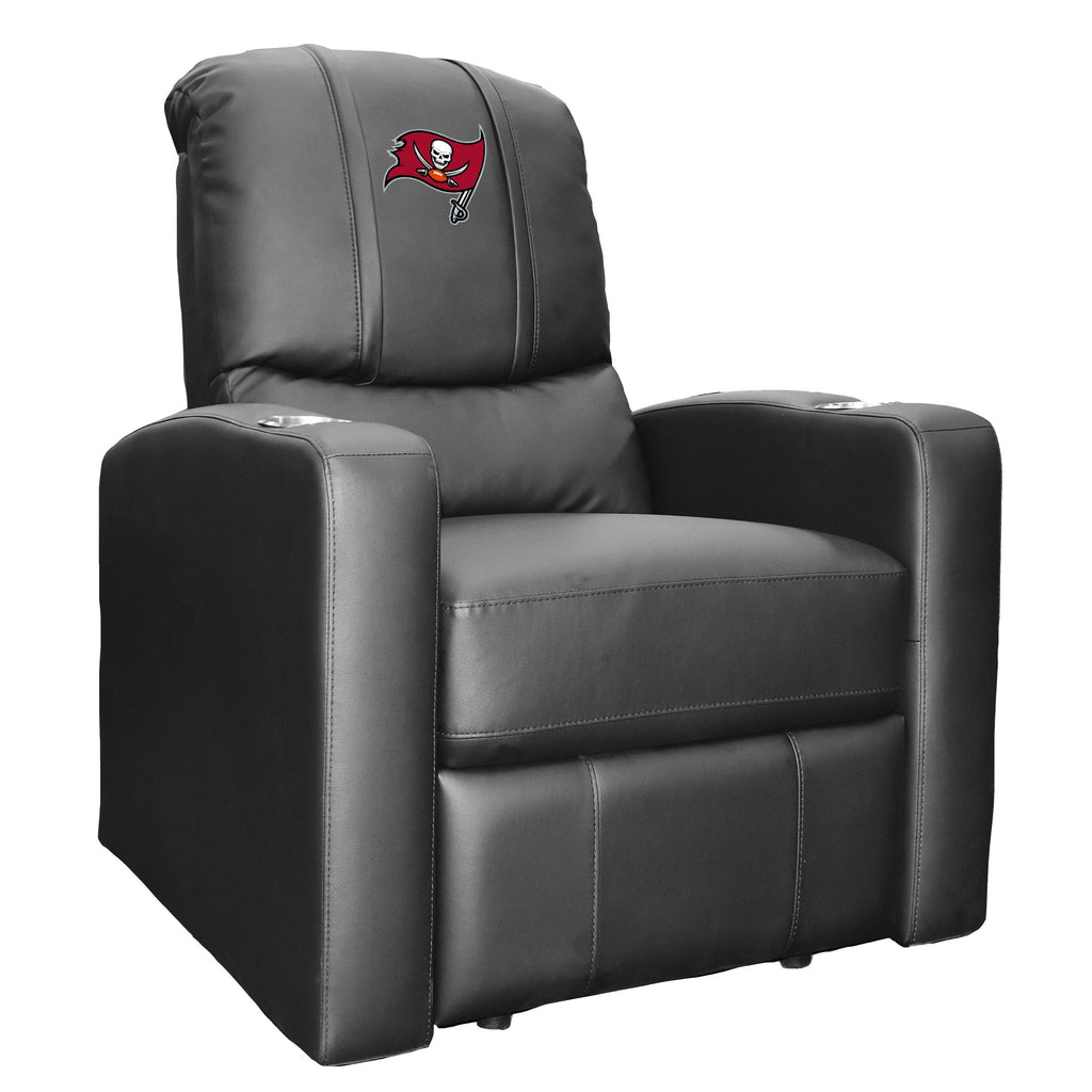 Stealth Recliner with  Tampa Bay Buccaneers Primary Logo