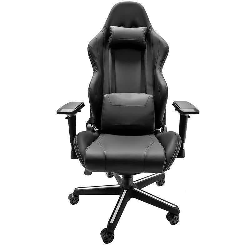University of Georgia Pinstripe Bulldog Head Xpression Gaming Chair with Logo