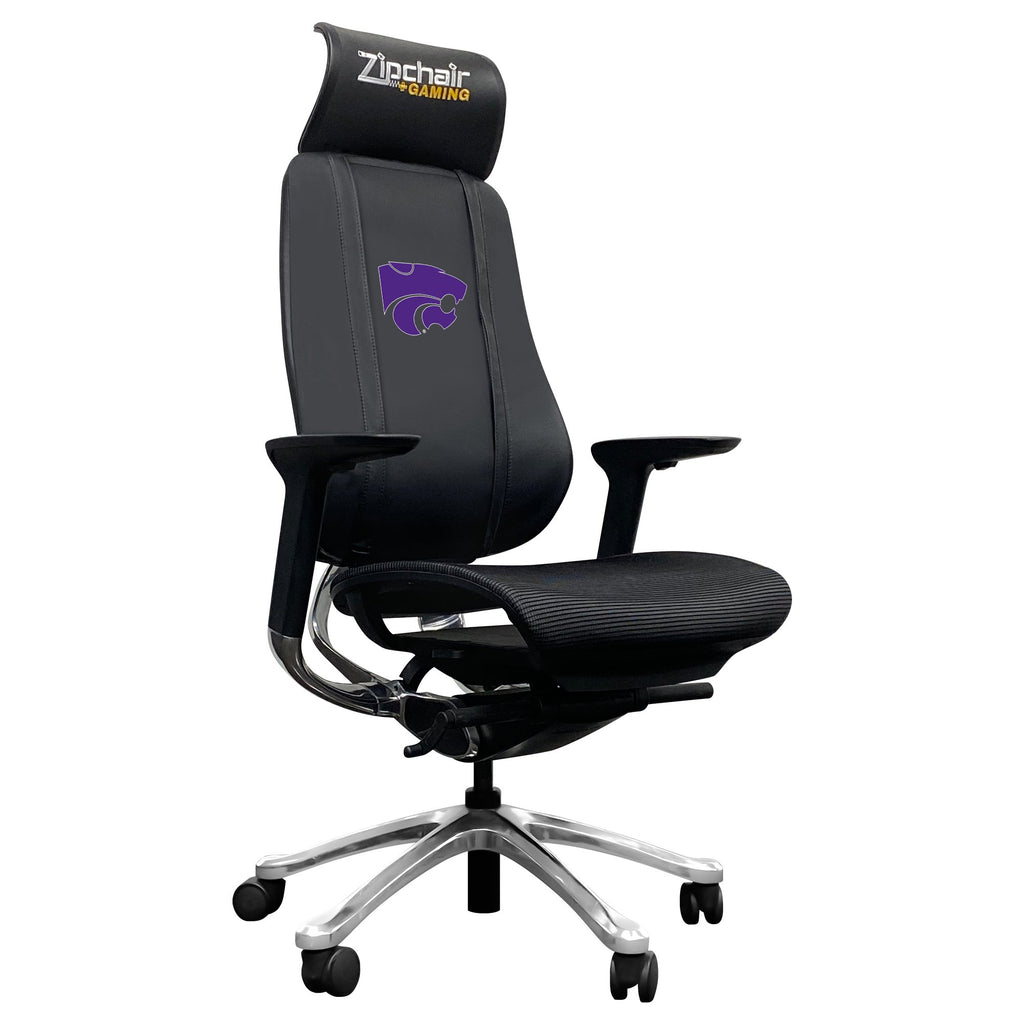 PhantomX Gaming Chair with Kansas State Wildcats Logo