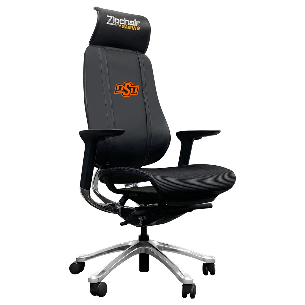 PhantomX Gaming Chair with Oklahoma State Cowboys Logo