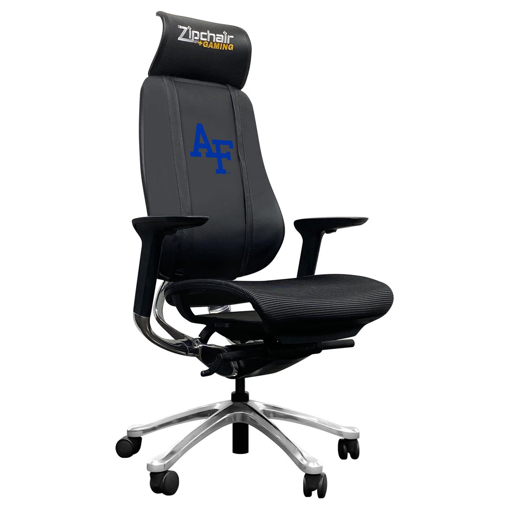 PhantomX Gaming Chair with Air Force Falcons Logo