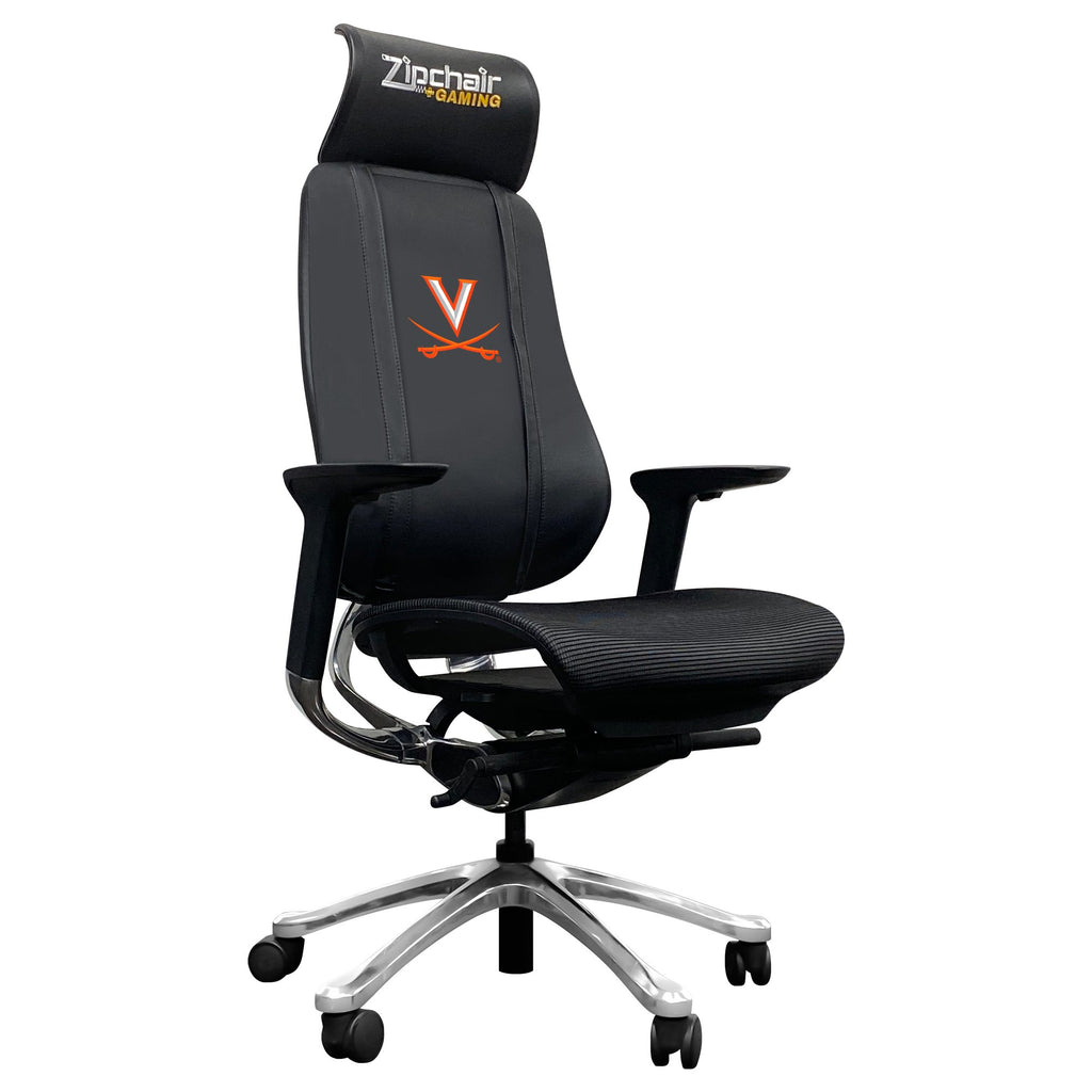 PhantomX Gaming Chair with Virginia Cavaliers Primary Logo